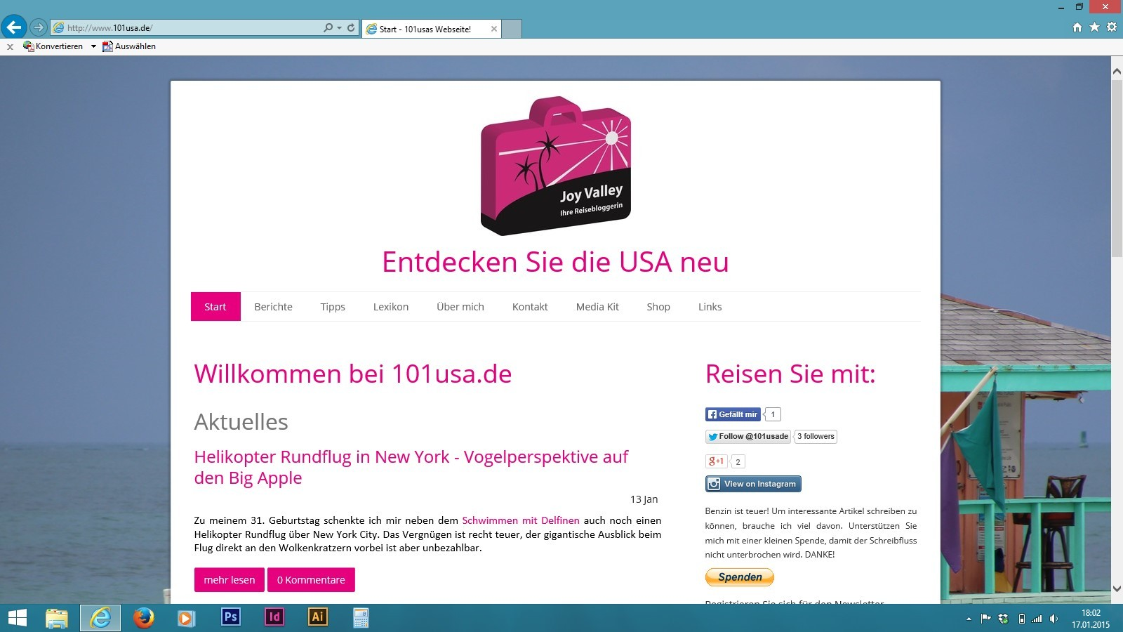 Startseite 101usa.de
