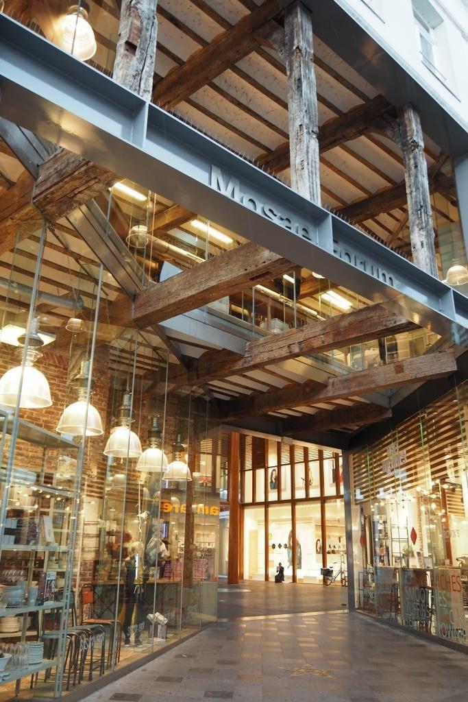 Meine Favoriten - Architektur des Mosae Forums