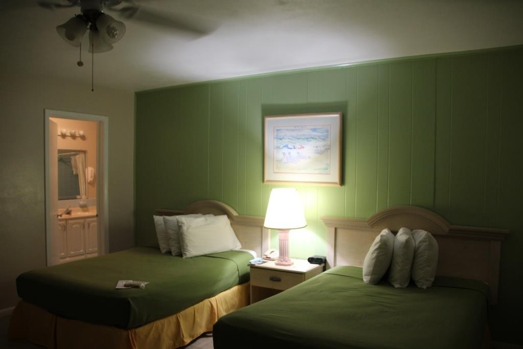 Motelzimmer in Fort Myers, USA.
