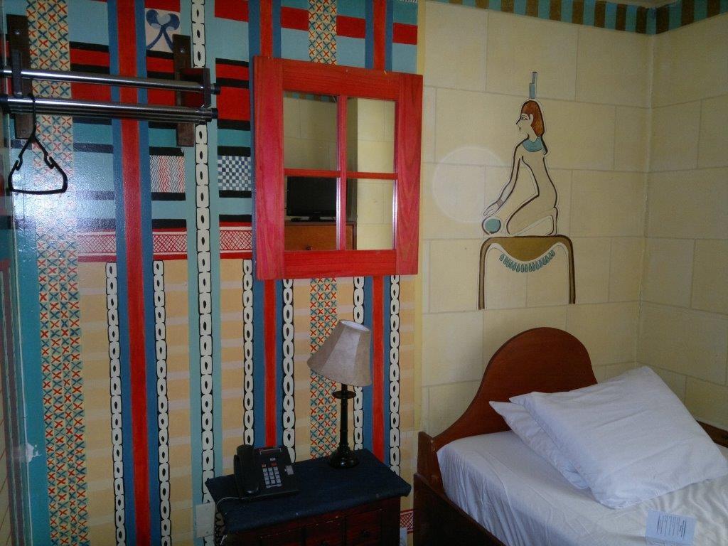 Hotelzimmer in New York, USA - man beachte die Größe für über 100 Euro pro Nacht.
