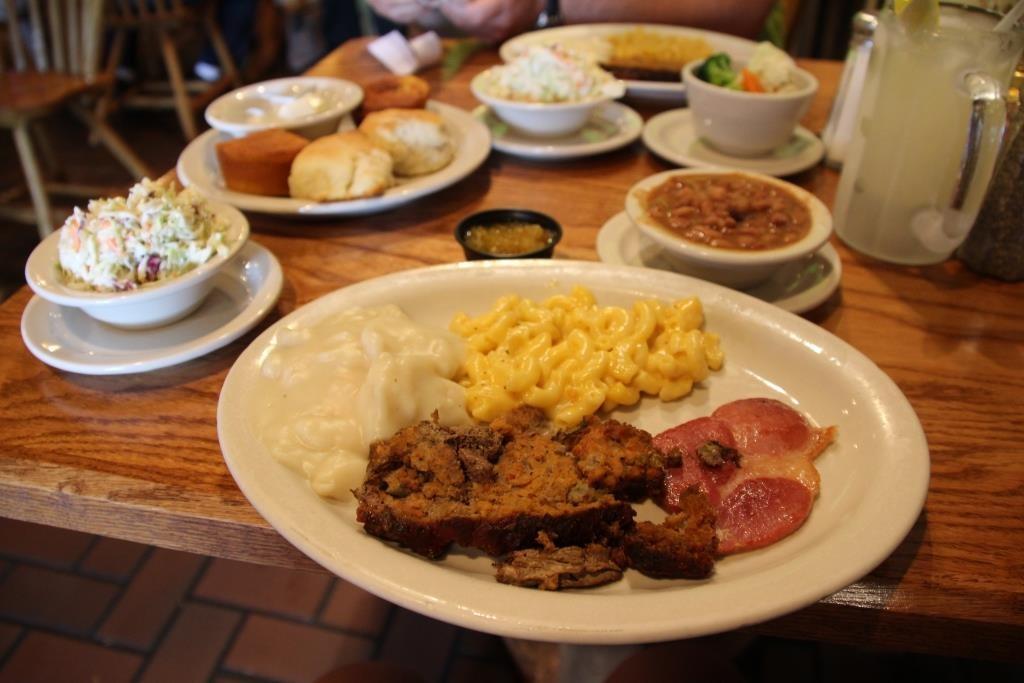 Typische Südstaatenküche