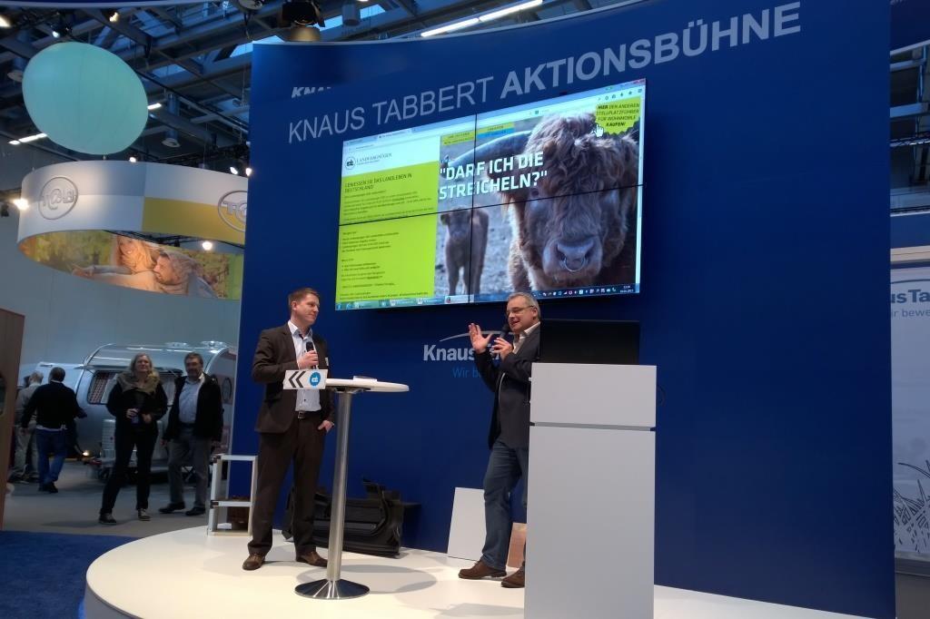 Präsentation Knaus Tabbert Landvergnügen