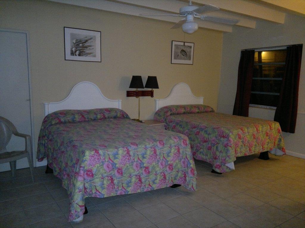 Hotelzimmer nahe Key Largo, USA.