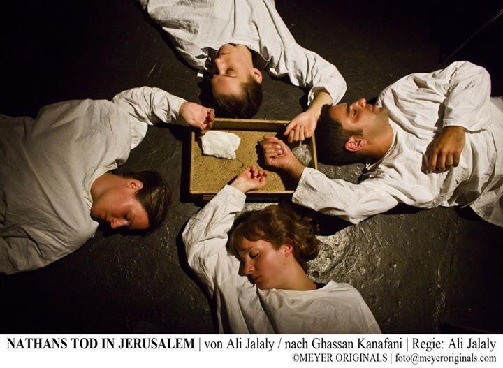 "Theaterstück ""Nathans Tod in Jerusalem"" nach: Ghassan Kanafani - Regie: Ali Jalaly"