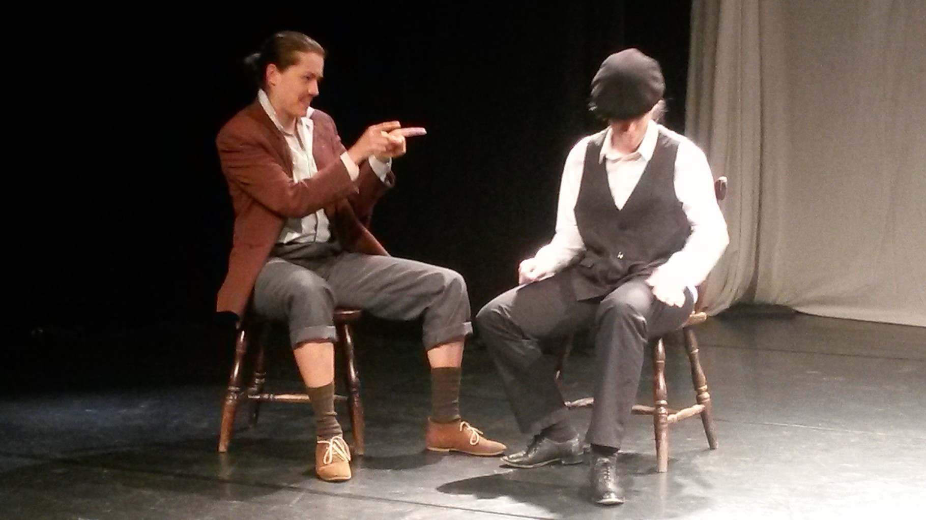 Studentenszene von Arturo-Schauspielschule