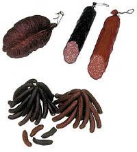 Rohwürste, Brühwürste, Kulen, Salami, Bauernschüblig, Chämischüblig, Znüni-Würstli