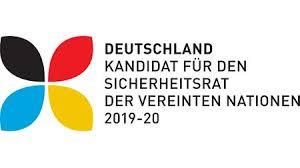 Logo der deutschen Sicherheitsratskandidatur 2018 ©Auswärtiges Amt