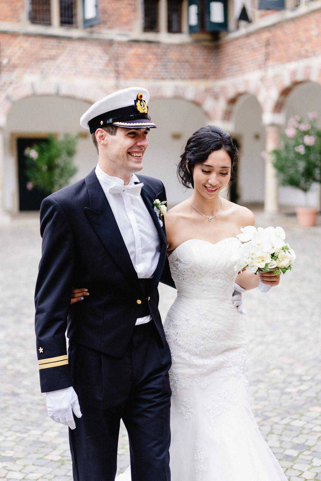 Reinbek Schloss Hochzeit Marine