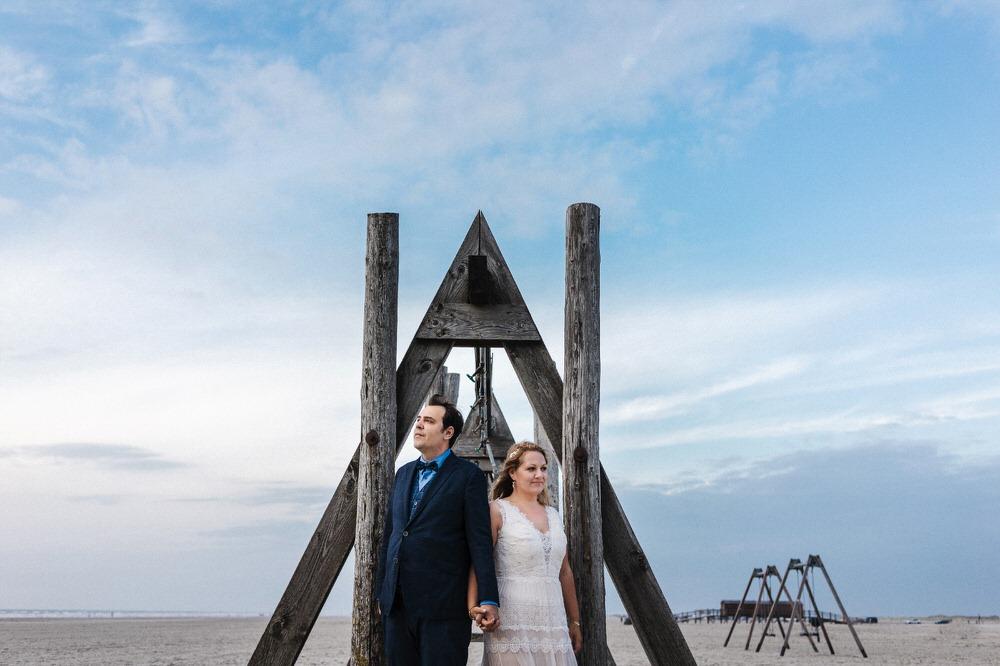 Hochzeitsbilder Symmetrie