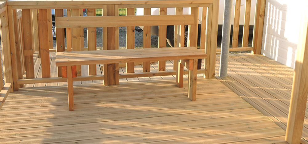 conception mobilier de jardin Morbihan Loisirs Evasion