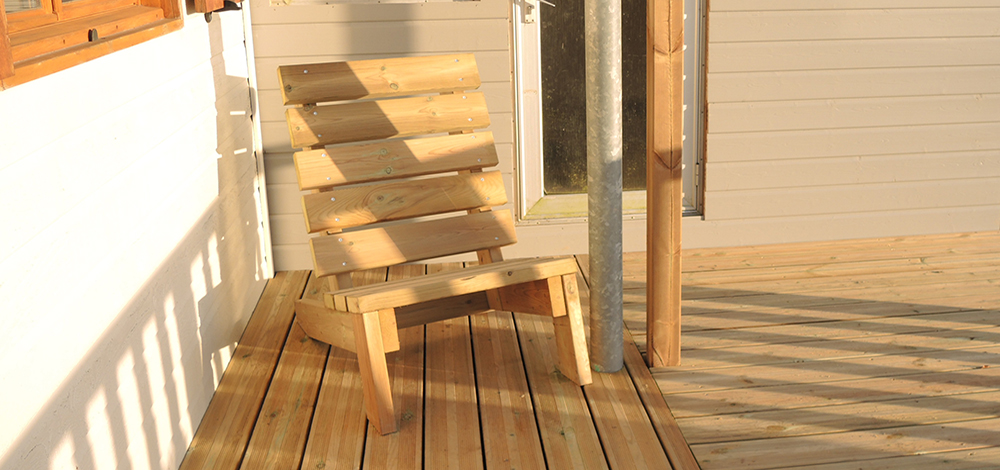 conception mobilier extérieur bois Morbihan Loisirs Evasion