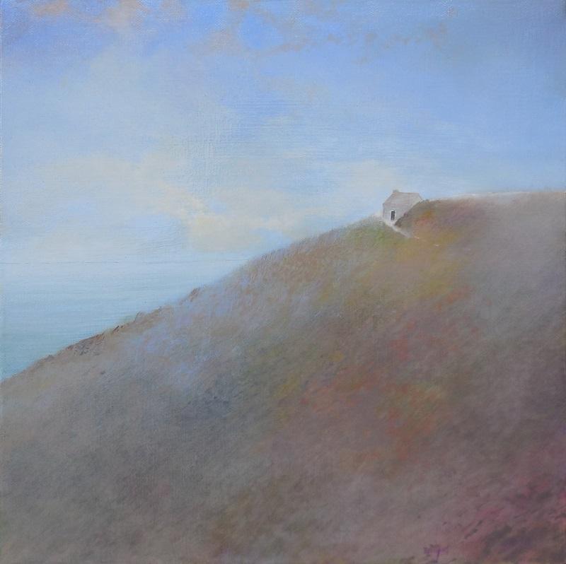 """Gérard BEAUJARD """"Cabane Vauban"""" huile sur toile 40 cm x 40 cm  encadré 46 cm x 46 cm 780 €"""