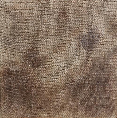 """Christian RONCERAY """"Par les chemins... III"""" technique mixte sur toile 20 cm x 20 cm 200 €"""