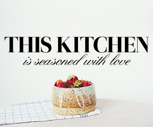 This Kitchen Is Seasoned With Love sticker