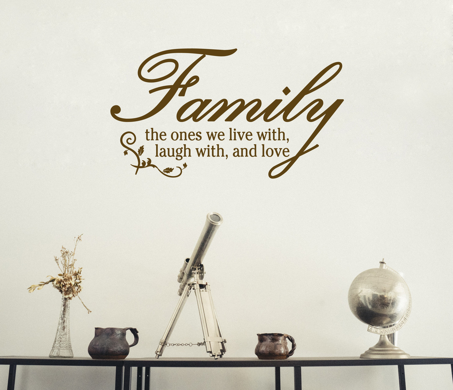 Family The ones we live with, laugh with, and love