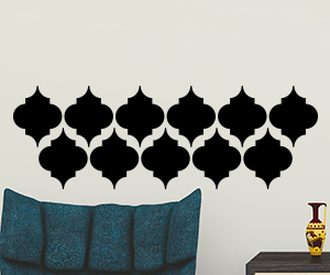 Morcoccan wall art sticker set for home decorating