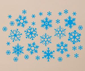 Snowflakes vinyl stickers