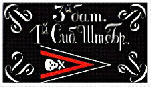 Знамя 3-го батальона 1-й Сибирской Штурмовой бригады