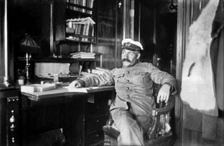 Капитан П. Миловзоров. 1926 год.