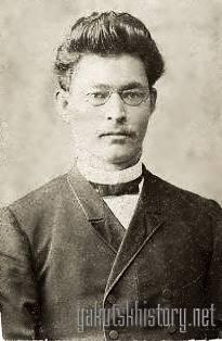 П.П. Явловский - студент московской духовной академии
