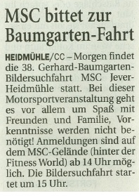 Wilhelmshavener Zeitung 12.05.2017