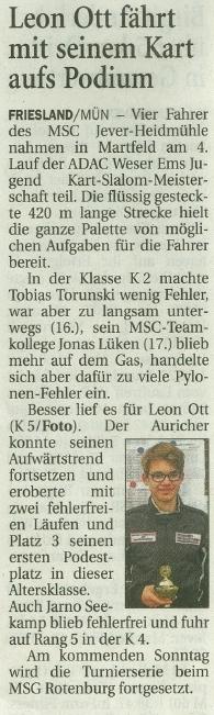 Wilhelmshavener Zeitung 24.05.2017