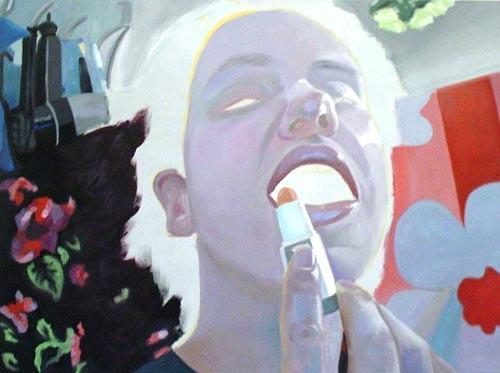 Maskerade_01   |   Eitempera/Öl auf Leinwand   |   60 x 80 cm   |   2004