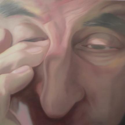 fertig_04   |   Öl auf Leinwand   |   90 x 90 cm   |    2005