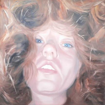 drunter & drueber_01   |   Öl auf Leinwand   |   80 x 80 cm   |   2004