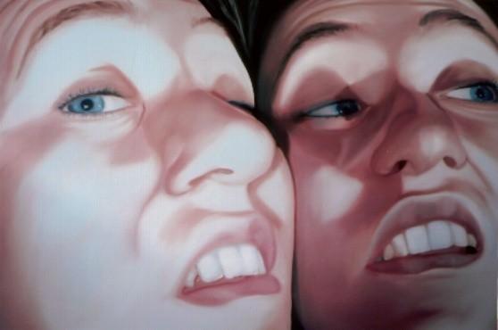 face2face_04   |   Öl auf Leinwand   |   60 x 90 cm   |   2005