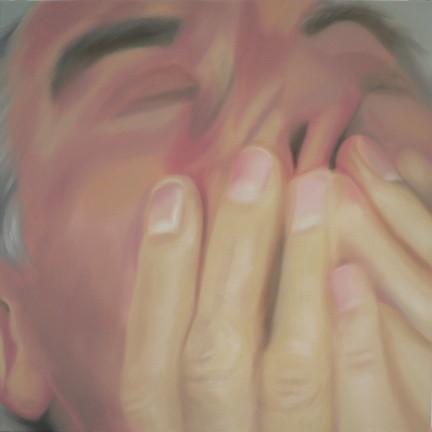 fertig_02   |   Öl auf Leinwand   |   90 x 90 cm   |    2005