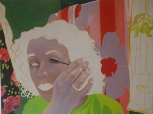 Maskerade_05   |   Eitempera/Öl auf Leinwand   |   90 x 120 cm   |   2004
