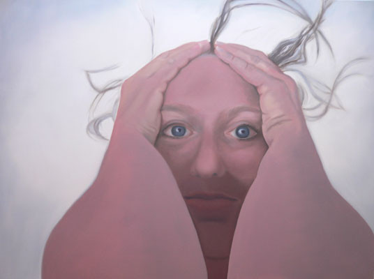 schoene aussichten_01   |    Öl auf Leinwand   |   90 x 120 cm   |   2005