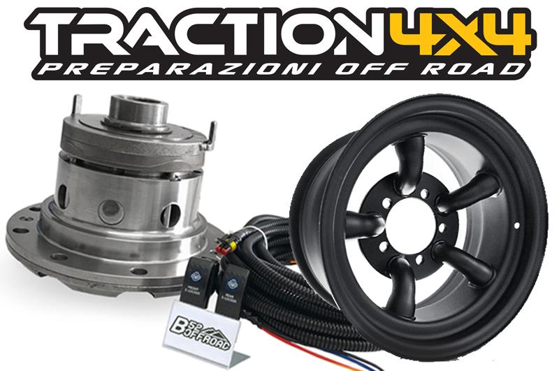 Si amplia la gamma degli accessori di Traction 4x4 dedicati al Suzuki