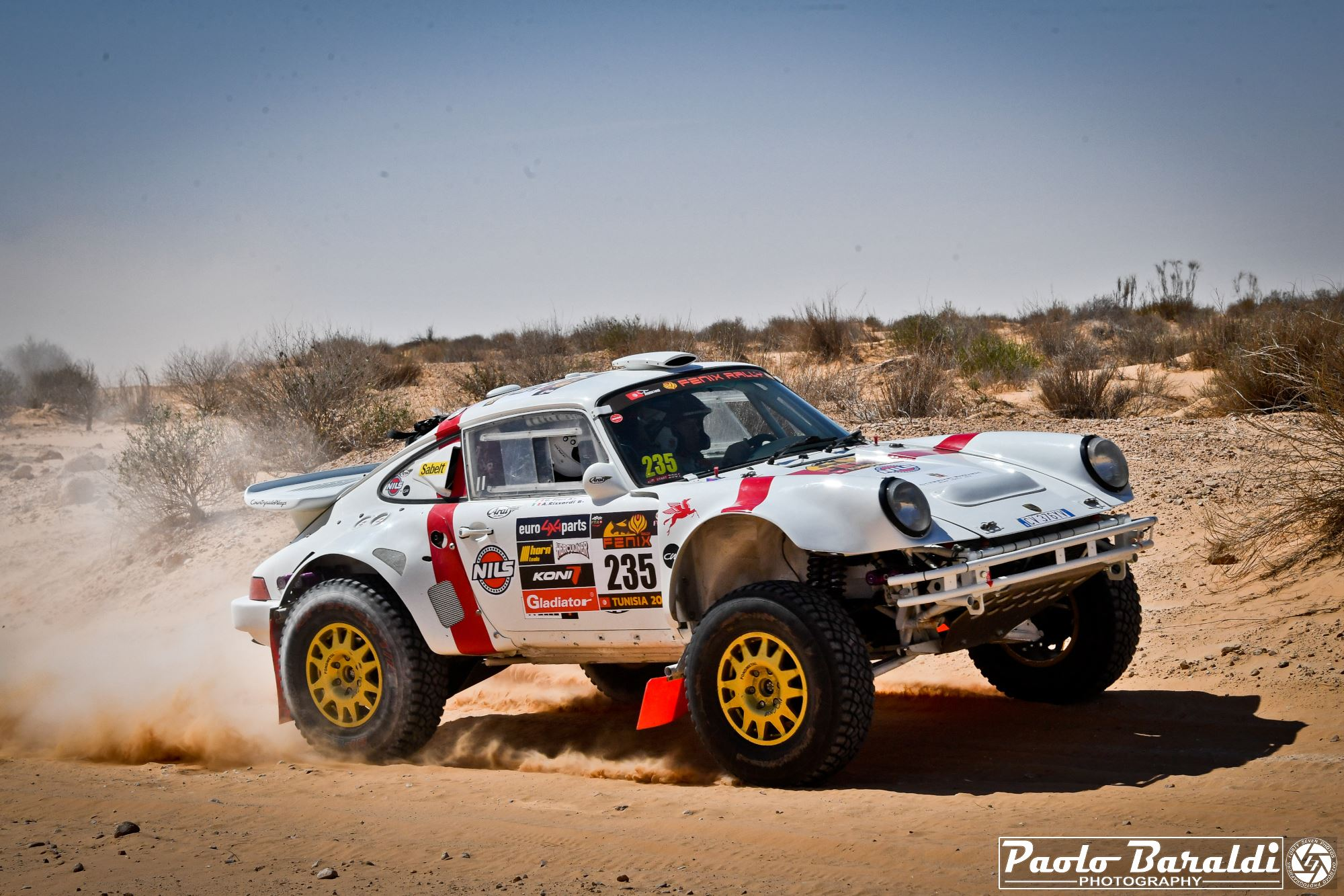 Porsche 911 4x4 Rally Raid: Dakarian nostalgia at the Fenix Rally