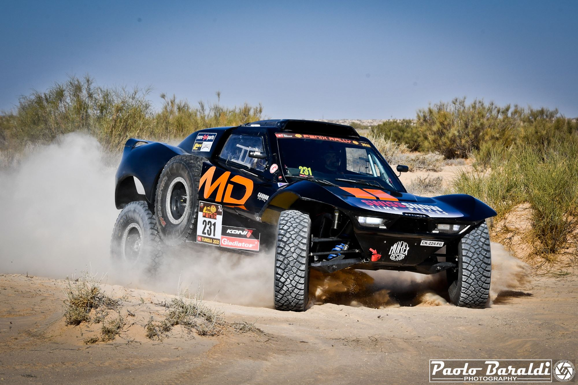 Fenix Rally 2021: great success for Alexander Kovatchev's new African adventure