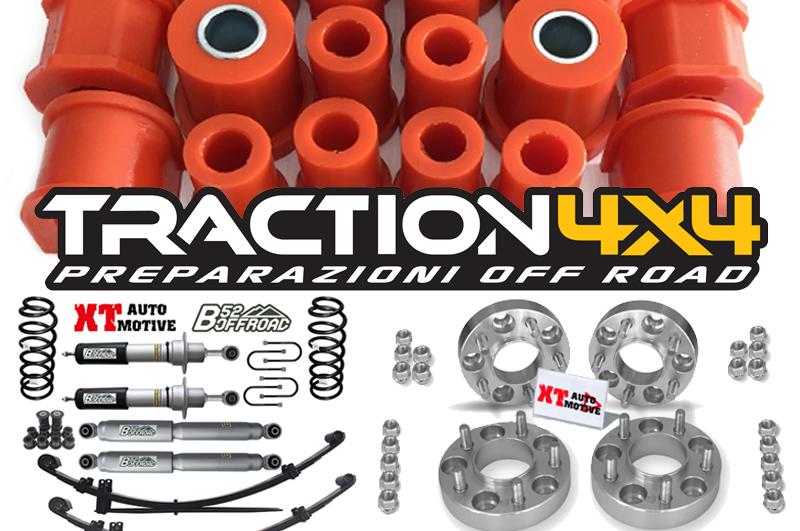 Traction 4c4, prodotti in primo piano