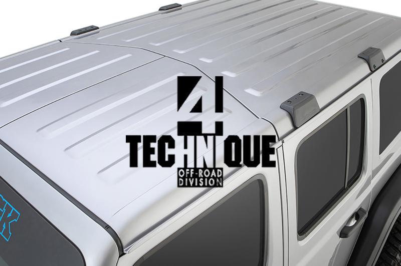 4 Technique presenta Backbone, l'evoluzione per il tetto del Wrangler