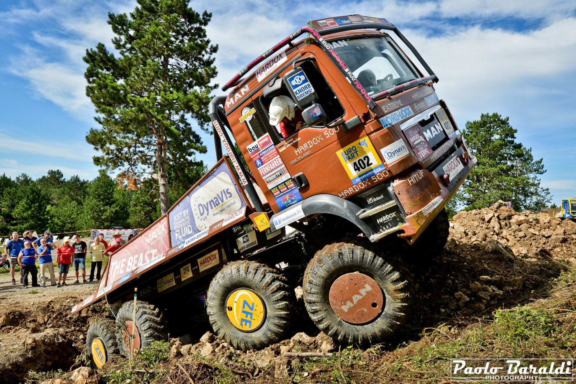 The hardest trial in Europe! Europa Truck Trial goes into the 32 season!