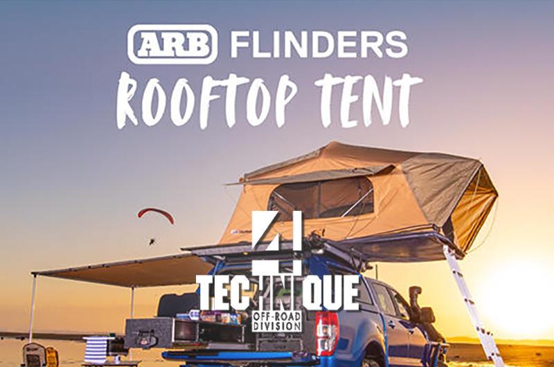 4 Technique vi propone nottate a 5 stelle grazie alla nuova tenda da tetto ARB Flinders