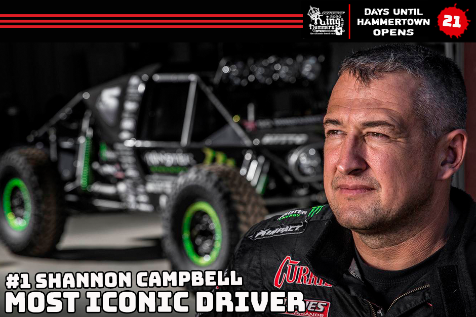 shannon campbell iconic ultra4 driver