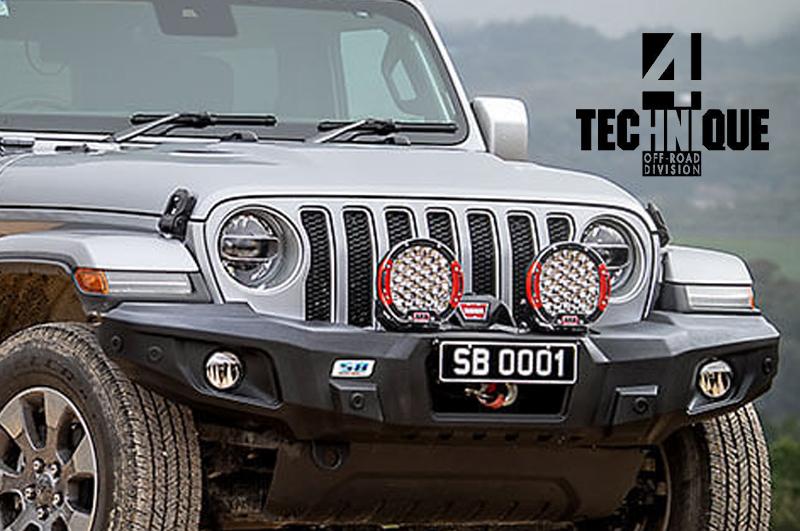 4 Technique propone: ARB SmartBar StealthBar per Jeep Wrangler JL e Jeep Gladiator JT