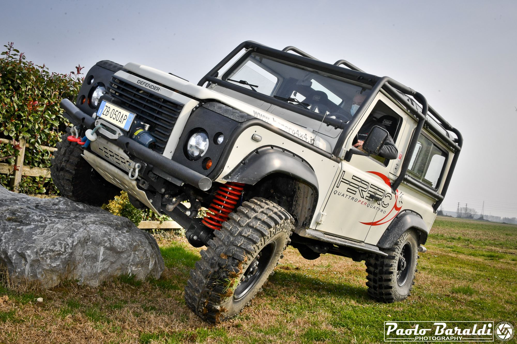 Herero 4x4 Ultimate Defender. No matter the latitude you are