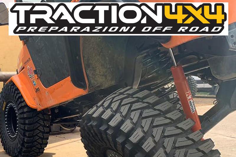 Traction 4c4, ammortizzatori su misura XT Automotive