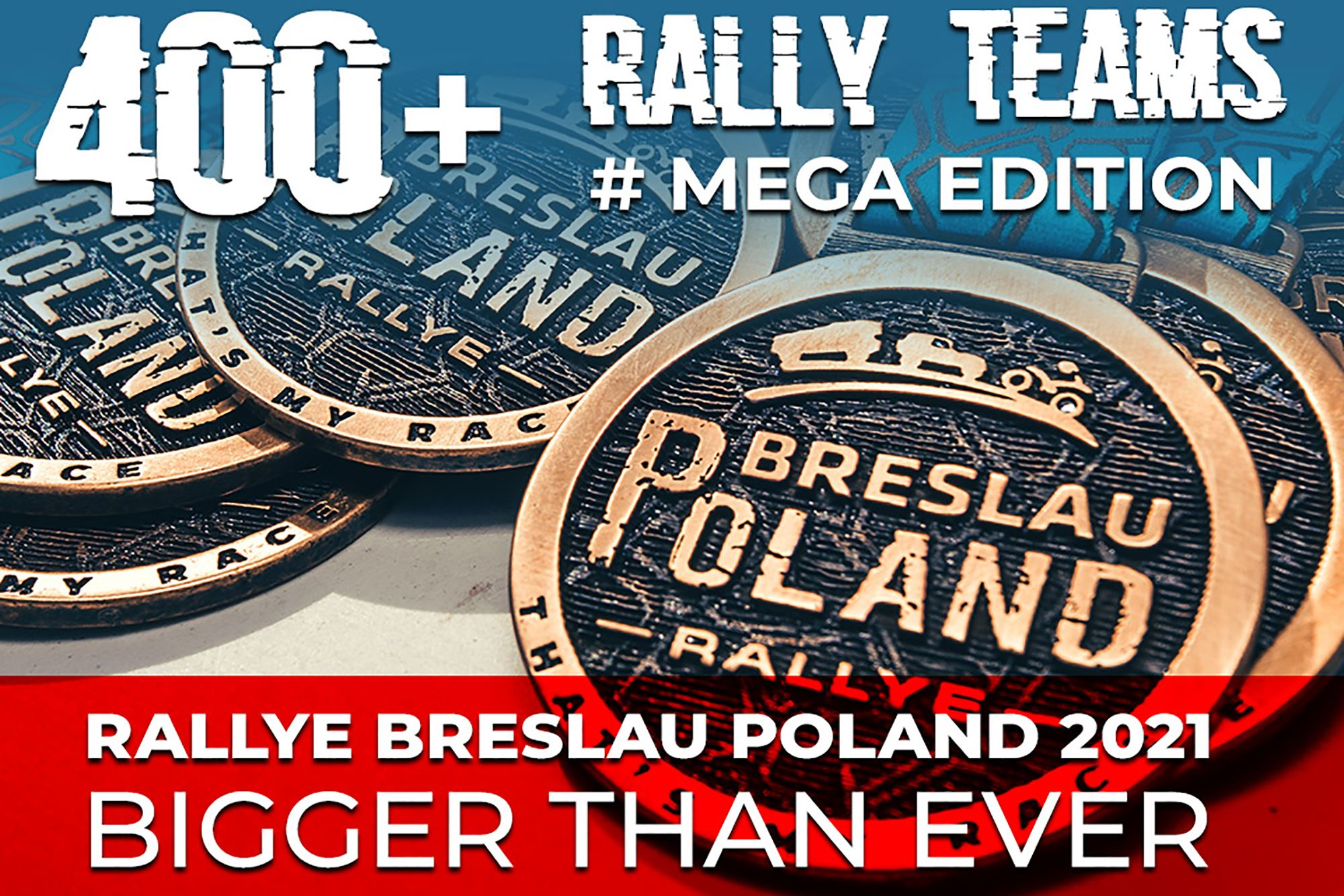 Rallye Breslau Poland 2021: the Mega Edition
