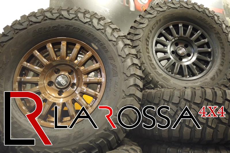 Larossa 4x4 rivenditore ufficiale OZ Racing e Sparco Wheels