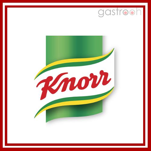 Knorr gehört zu Unilever und ist hier die Marke für Suppen und Saucen