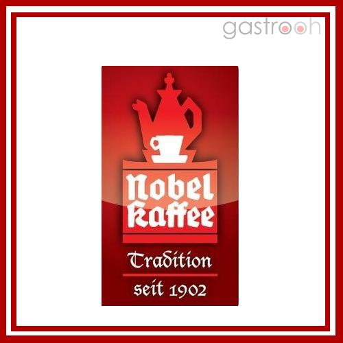 Nobel Kaffee vertreibt nicht nur unter der Eigenmarke, sonder auch u.a. Produkte von Lavazza und Douwe Egberts.