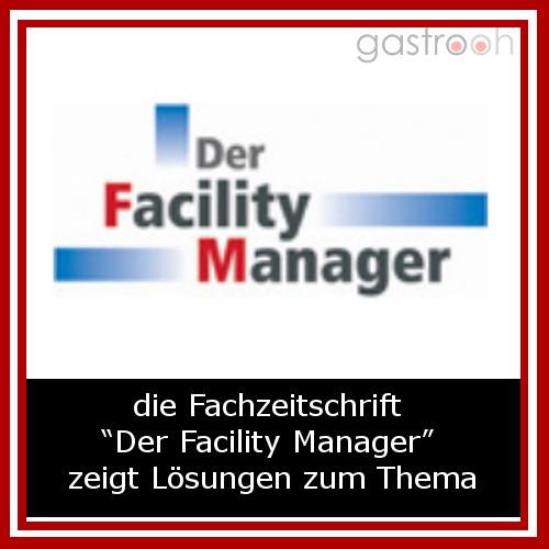 """Die Fachzeitschrift """"Der Facility Manager"""" zeigt Lösungen für lebenszyklusorientierte Planung, Bau und Bewirtschaftung von Gebäuden und Anlagen. Ziel von Facility Management ist es, ein optimales Umfeld für das Kerngeschäft zu schaffen."""