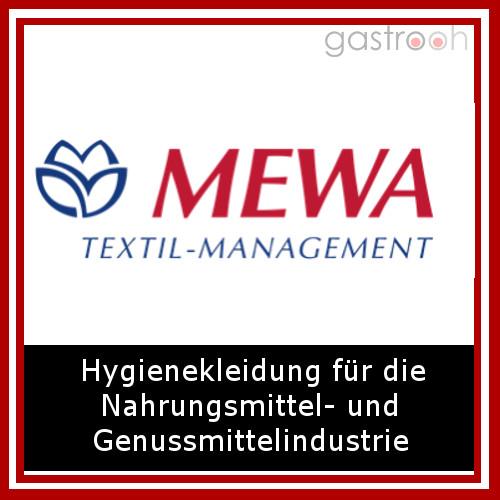 Mewa bietet neben allgemeiner Berufskleidung auch Hygiene- und Arbeitsschutzkleidung